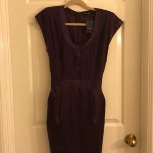 Nanette Lepore plum dress